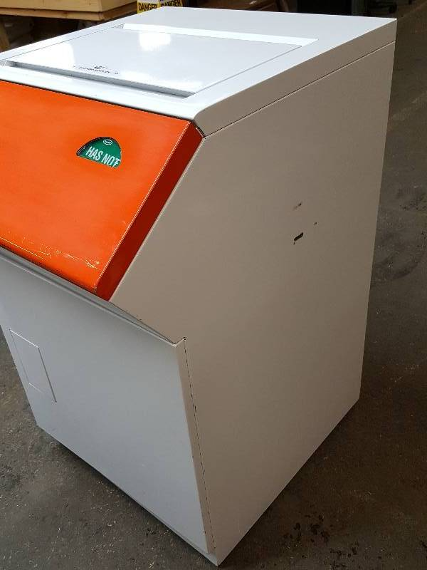 It39s a new small package drop off outdoor station with for Safe document storage