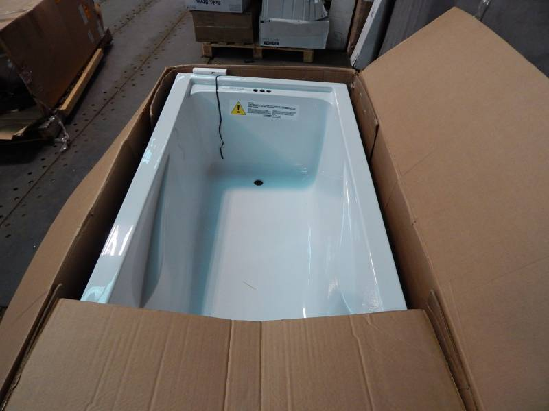 American standard evolution 72 inch by 36 inch deep soak for How deep is a normal bathtub