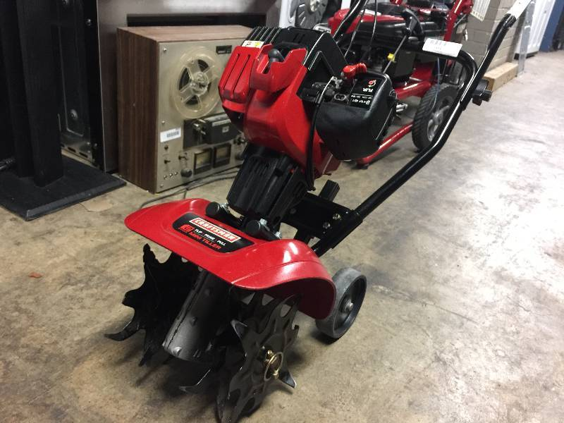 Craftsman 2 cycle Mini tiller owners Manual