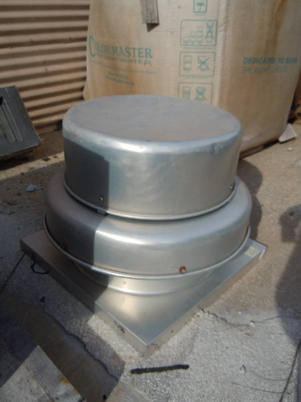 Greenheck Centrifugal Roof Exhaust Fan Under The Bridge