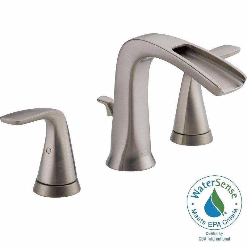 Brand Names Of Bathroom Faucets: Tolva 8 In. Widespread 2-Handle Bathroom Faucet In