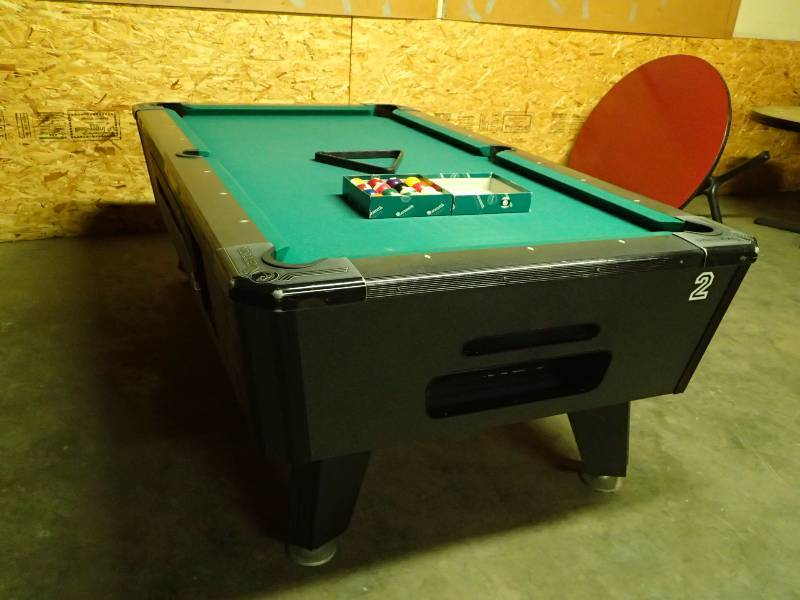 Valley Black Cat Ft Coin Operated Pool Table Pool Hall - Valley coin operated pool table