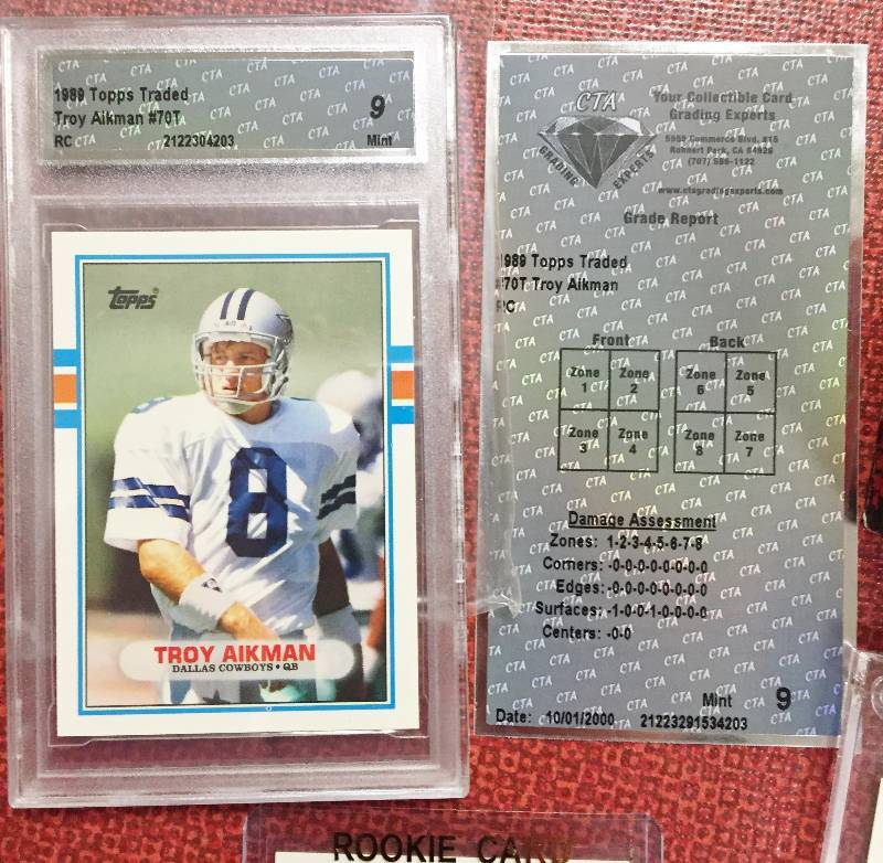 Barry Sanders 1989 Score Rookie Card: 1989 Topps Traded Football Set