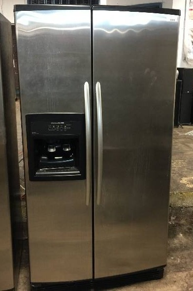 Kitchenaid Superba 25 5 Cu Ft Side By Side Stainless