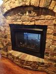 Double Sided Gas Fire Place Insert