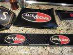 (2) Jack And Coke Bar Mats