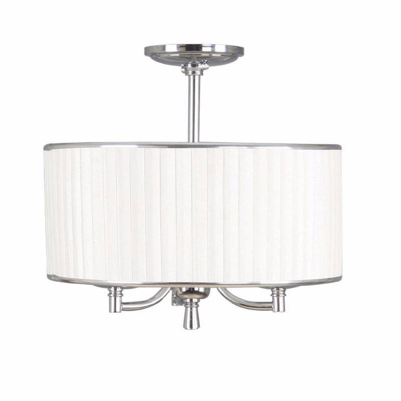 Home Decorators Collection Anya 3 Light Chrome Semi Flush - behr home decorators collection cream new