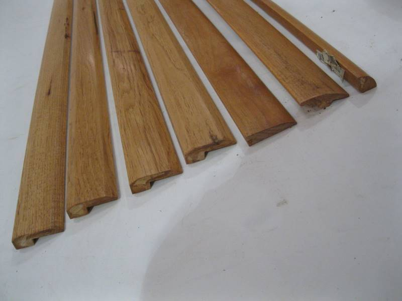 wood trim 78 assorted pieces quantity 7 commercial