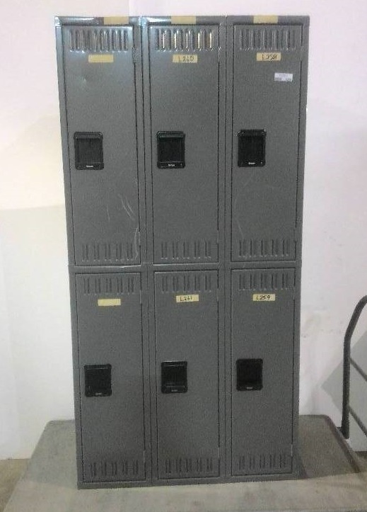 Tennsco 6 door locker 72 x 18 x 36 commercial for 18 door locker