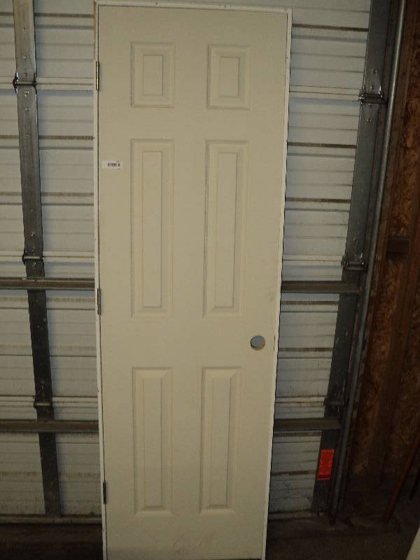 How Wide Is A Door Frame : Interior door with frame quot wide tall white