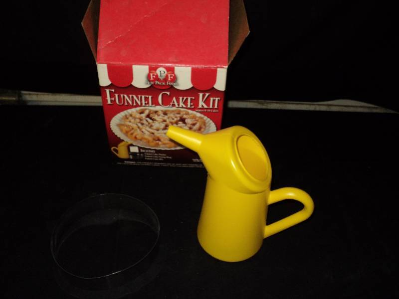 funnel cake kit funnel cake kit includes pitcher and frying ring funnel 4418