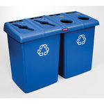 Glutton® Recycling Station By Rubbermaid