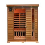 NEW 3 PERSON CEDAR SAUNA CARBON FIBER SEKD3