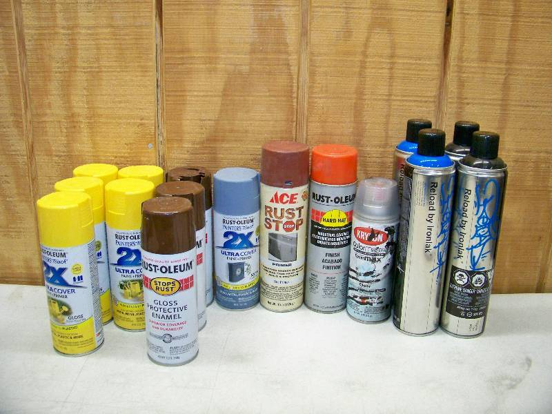 15 Cans Spray Paint Belton All Star Merchandise And Goods Sale Equip Bid