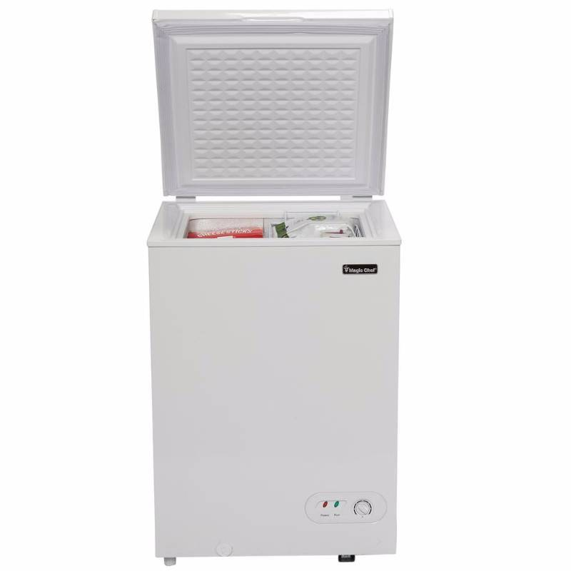 Magic Chef 3 5 Cu Ft Chest Freezer In White Home