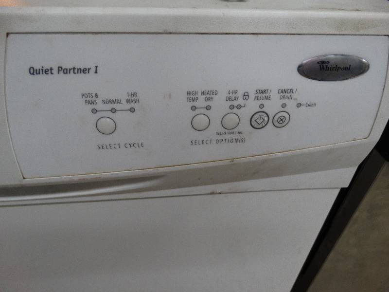 Whirlpool Dishwasher Quiet Partner 2 Owners Manual