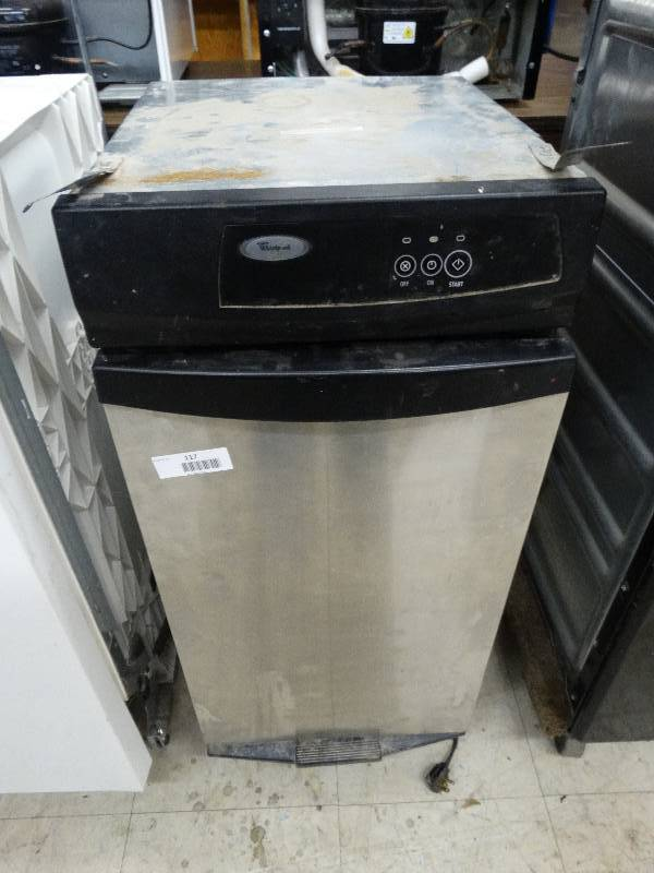 Whirlpool Stainless Steel Trash Compactor Works North