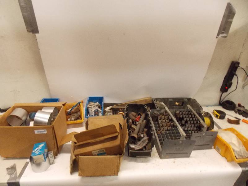 Small piping components lot tall t sales huge hvac