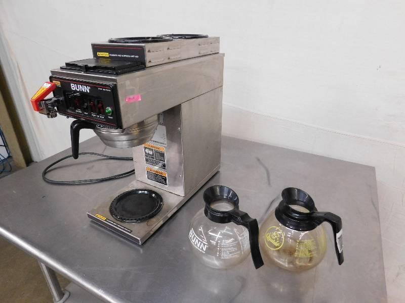 Bunn Coffee Maker with Hot Water Dispenser Winter Restaurant Equipment Liquidation!!! Equip-Bid