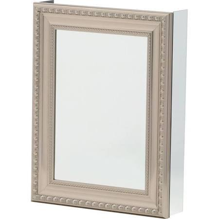 pegasus bathroom mirrors pegasus 20 in w x 26 in h framed recessed or surface 13942