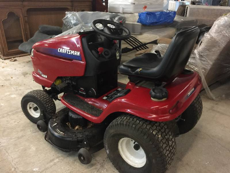 Dyt 4000 Engine : Craftsman dyt briggs stratton cc