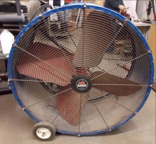 Tall Portable Fan : Portable fan tall t sale spring makeover equip bid