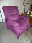 PURPLE RECLINER very cool