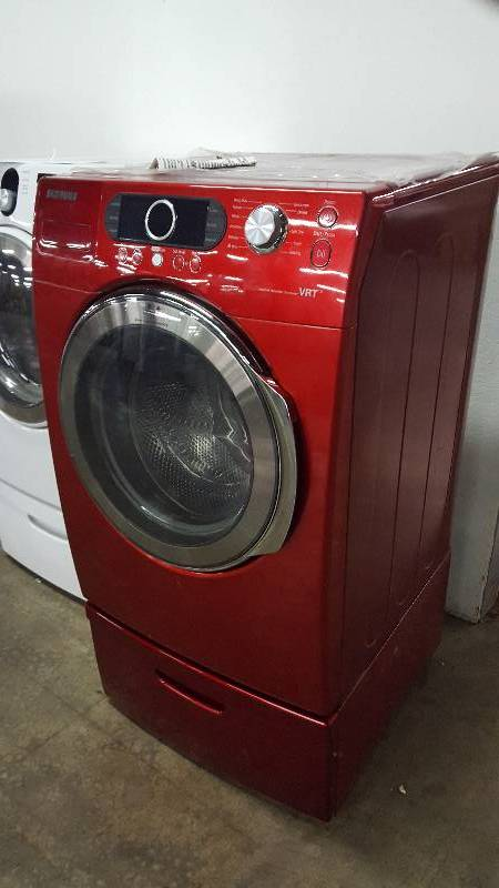 Samsung Vrt Red Washing Machine Appliance Mart Factory