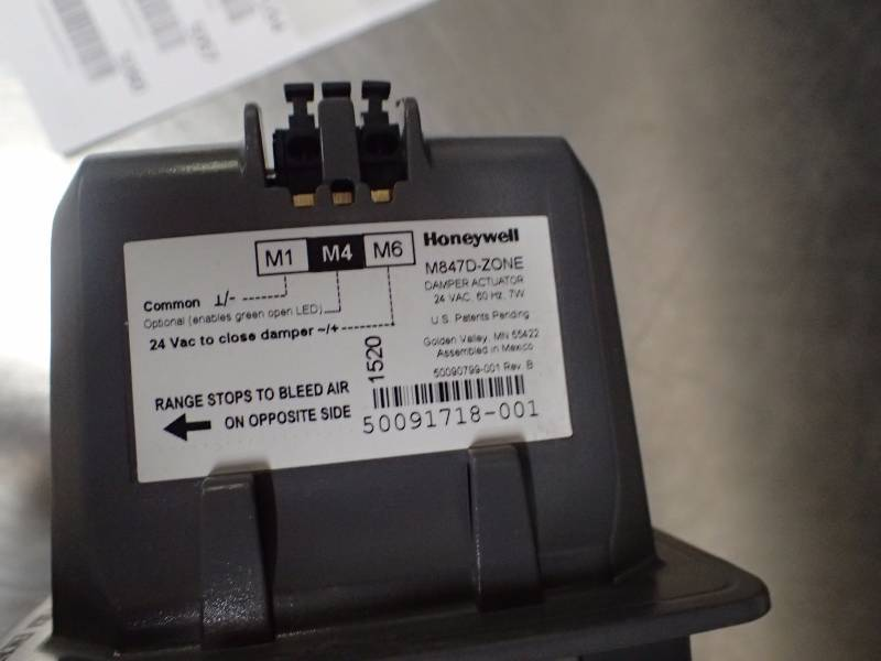 Honeywell M847D-ZONE TRUEZONE Replacement Actuator for