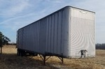 Trailmobile 40'  Aluminum Dry Van Semi Trailer w/ Large Quantity Of Various Shelving Included