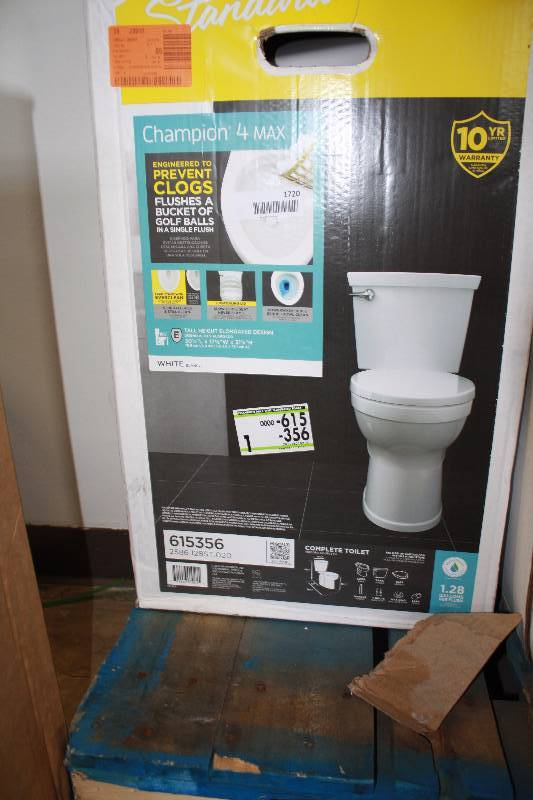 American Standard Champion 4 Max Elongated Toilet In White