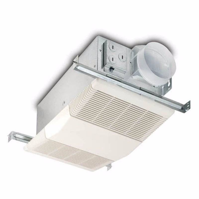 Nutone model 605rp heater fan 70 cfm 4 0 sones exhaust for 4 kitchen exhaust fan