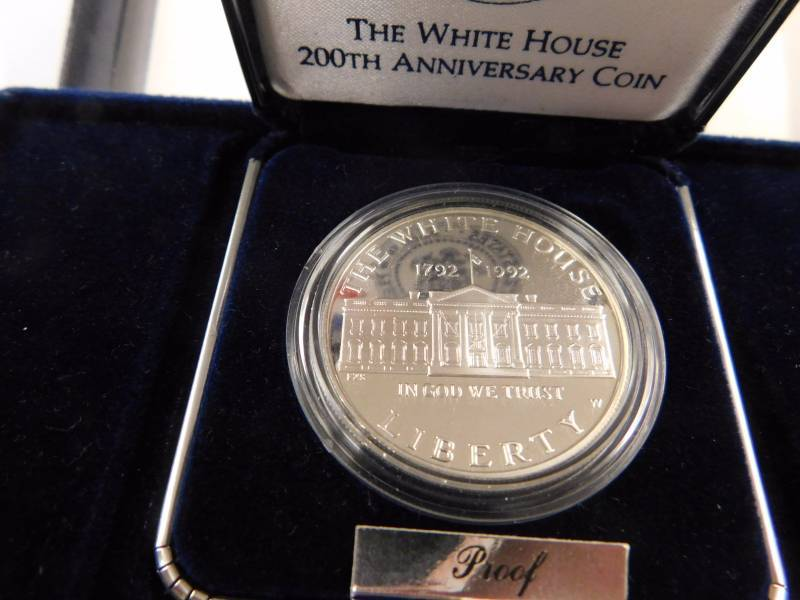 200th Anniversary White House Silver Dollar Coin Wichita