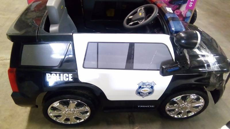 Chevrolet Police Cruiser Power Wheels