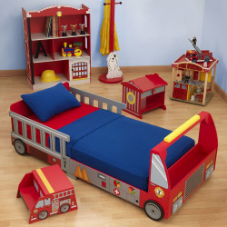 Fire Truck Toddler Bed Marcus Haus Solutions Thursday Auction Home Improvement Furniture