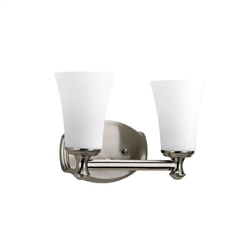 Kohler Bathroom Lighting Brushed Nickel - Kohler K 10570 Bn Devonshire Single Wall Sconce In ...