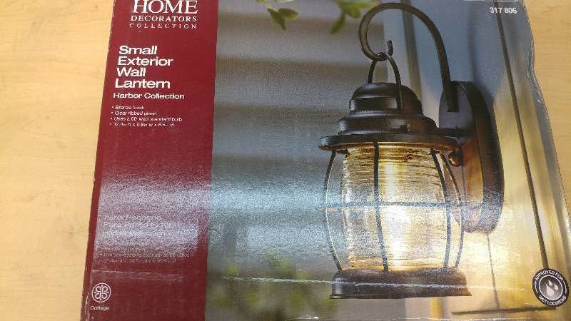 Home Decorators Collection Small Exterior Wall Lantern Harbor Ceiling Fans Led Bulbs