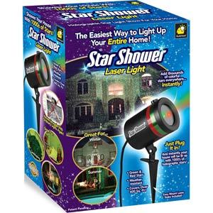 Star Shower Outdoor Laser Christmas Lights Star Projector By Bulbhead Home Decorator Patio Tool Equipment Auction Equip Bid