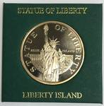 "Statue Of Liberty Coin ""Liberty Island"""