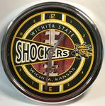 WSU Wichita State Shockers Clock (Appears To Be New In Box)