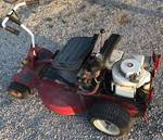 Snapper 8 HP Riding Lawnmower with Key