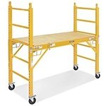New portable scaffolding with casters as pictured high dollar items