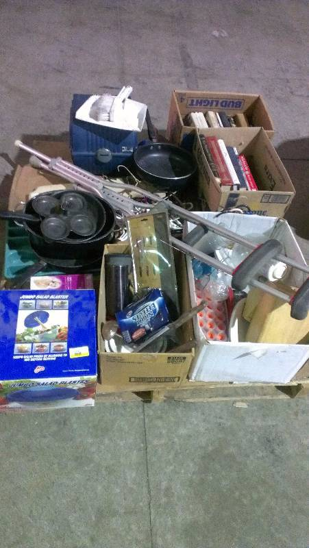 Pallet Of Housewares Jr Sales Amp Surplus Liquidation Sale