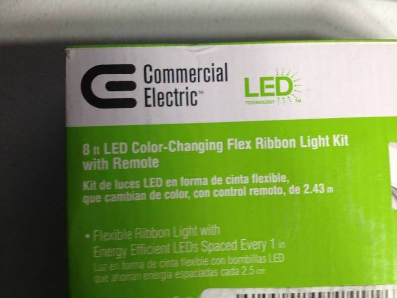 Commercial Electric 8 Ft Led Color Changing Flex Ribbon