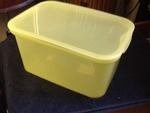 "Case of 5 food storage units of used for any storage needs 11""x7""x5"""
