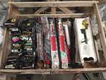 Crate of assorted 22 shocks/struts - Rancho, Monroe and Sensatrac