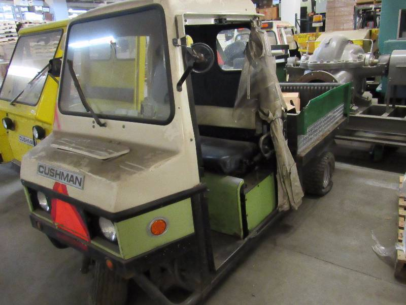 Cushman 22HP 3 Wheel Turf Truckster | Hallmark Excess Industrial and