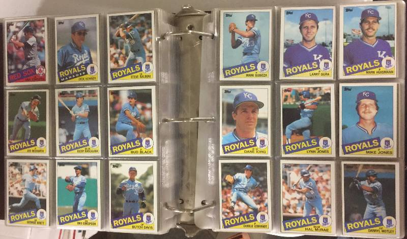 1985 Topps Complete Mint Set With Rookies Of Kirby Puckett