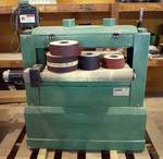 "General international - 24"" Horizontal Drum Sander - M# 15-250M1 - with extra sanding belts! - WORKS! w/ orig manual"