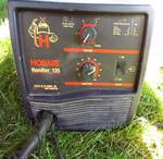 "Hobart Handler 135 - WELDER - Welds 22 Gauge Up to 3/16"" Material in a Single Pass - Tested!!"
